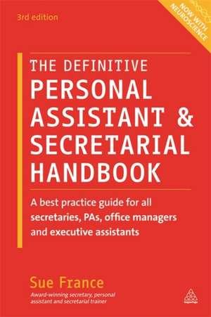 The Definitive Personal Assistant & Secretarial Handbook imagine