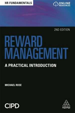 Reward Management de Michael Rose