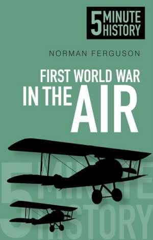 5 Minute History:  First World War in the Air de Norman Ferguson