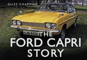 The Ford Capri Story de Giles Chapman