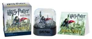 Harry Potter Hogwarts Castle Snow Globe and Sticker Kit de Running Press