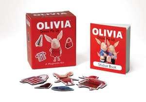 Olivia Dress Me Up: A Magnetic Kit de Running Press