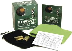 Mini Howzat! Cricket Kit de Running Press