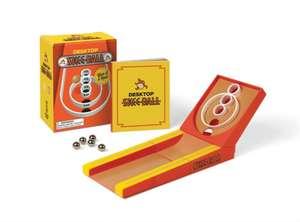 Desktop Skee-Ball: Give it a roll! de Running Press