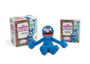 Sesame Street: The Monster at the End of this Book: Includes Illustrated Book and Grover Backpack Clip de Jon Stone