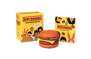 Bob's Burgers Talking Burger Button de Robb Pearlman