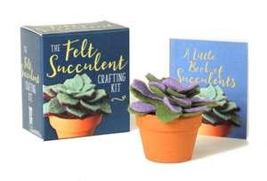 The Felt Succulent Crafting Kit de Nikki Van De Car