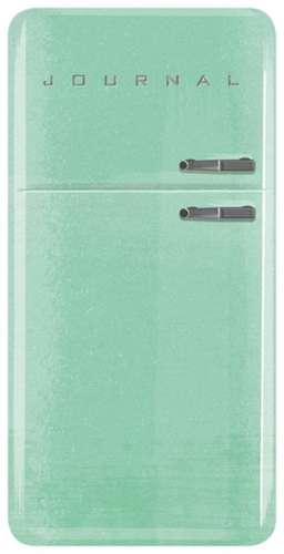 Vintage Refrigerator Journal de Running Press
