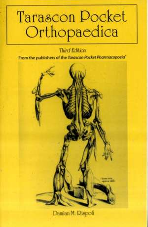 Tarascon Pocket Orthopaedica