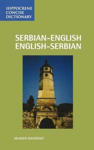 Serbian-English / English-Serbian Concise Dictionary de Mladen Davidovic