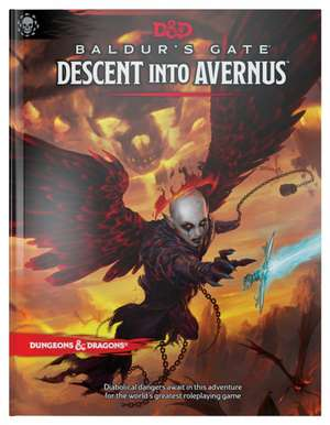 Dungeons & Dragons Baldur's Gate: Descent Into Avernus Hardcover Book (D&d Adventure) de  Wizards Rpg Team