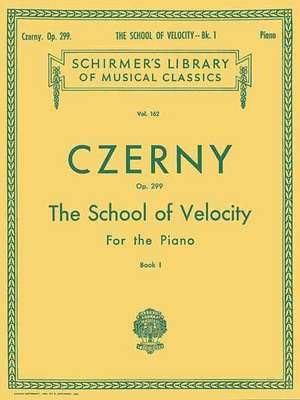School of Velocity, Op. 299 - Book 1:  Piano Technique de Czerny Carl