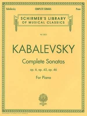 Dmitri Kabalevsky - Complete Sonatas for Piano: Schirmer Library of Classics Volume 2033 de Dmitri Kabalevsky