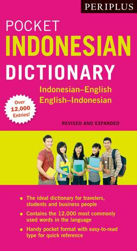 Periplus Pocket Indonesian Dictionary: Indonesian-English English-Indonesian (Revised and Expanded Edition) de Katherine Davidsen