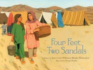 Four Feet, Two Sandals de Karen Lynn Williams