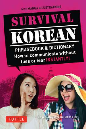 Survival Korean Phrasebook & Dictionary imagine