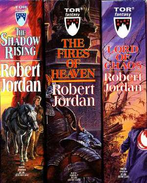 The Wheel of Time, Boxed Set II, Books 4-6:  The Shadow Rising, the Fires of Heaven, Lord of Chaos de Robert Jordan