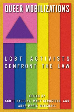Queer Mobilizations:  LGBT Activists Confront the Law de Scott Barclay