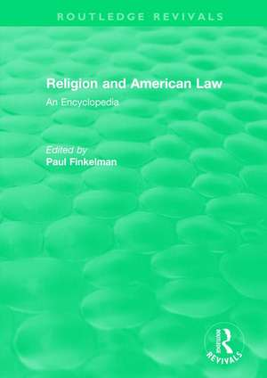 : Religion and American Law (2006)