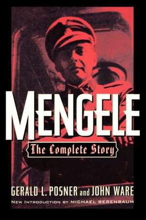 Mengele de Gerald L. Posner