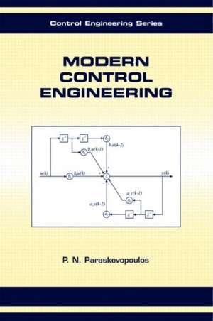 Modern Control Engineering de P. N. Paraskevopoulos