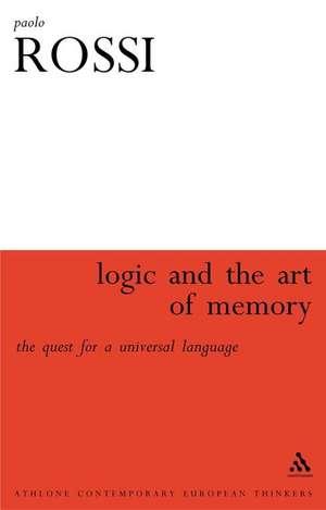 Logic and the Art of Memory imagine