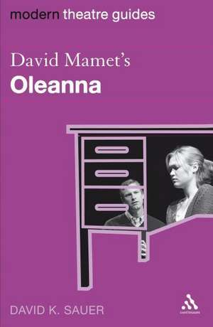 David Mamet's Oleanna imagine