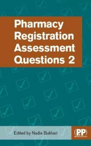 PHARMACY REGISTRATION ASSESSMENT QUESTIO