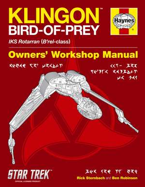 Klingon Bird-of-Prey Owner's Workshop Manual