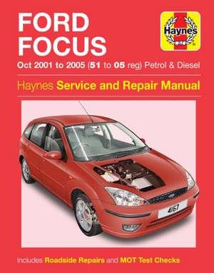 Ford Focus 01-05 de  Haynes Publishing