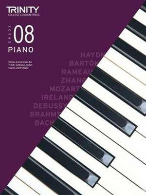 Trinity College London Piano Exam Pieces & Exercises 2018-2020. Grade 8 de Trinity College London