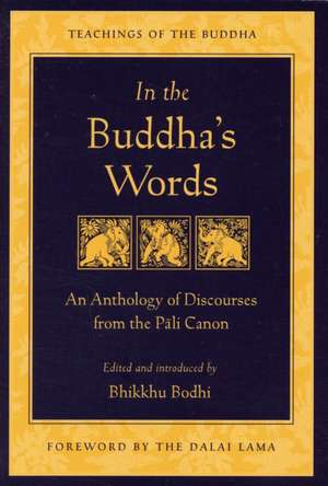 In the Buddha's Words imagine