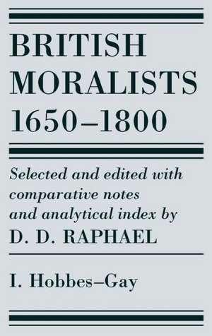British Moralists: 1650-1800 (Volumes 1) imagine