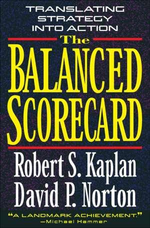 The Balanced Scorecard imagine