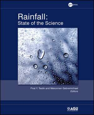 Rainfall: State of the Science de Firat Y. Testik