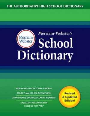 Merriam-Webster's School Dictionary de Merriam Webster