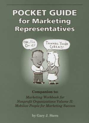 Pocket Guide For Marketing Representatives