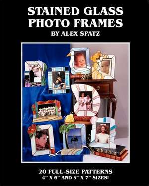 Stained Glass Photo Frames:  Face to Face with the Truth about Black Men de Alex Spatz