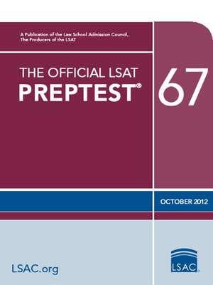 The Official Lsat Preptest 67