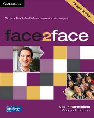face2face Upper Intermediate Workbook with Key de Nicholas Tims