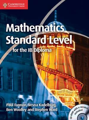 Mathematics for the IB Diploma Standard Level with CD-ROM imagine
