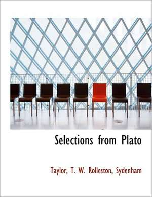 Selections from Plato de  Taylor