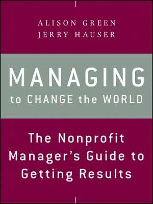 Managing to Change the World imagine