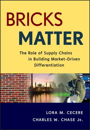 Bricks Matter: The Role of Supply Chains in Building Market–Driven Differentiation de Lora M. Cecere