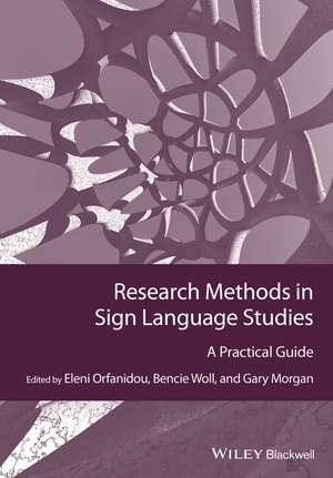 Research Methods in Sign Language Studies imagine