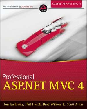Professional ASP.NET MVC 4 de Jon Galloway