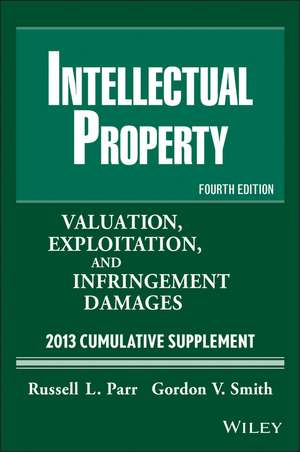 Intellectual Property, Cumulative Supplement