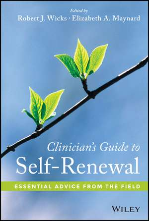 Clinician′s Guide to Self–Renewal