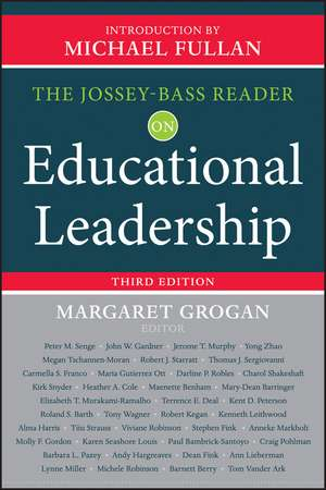 The Jossey–Bass Reader on Educational Leadership imagine
