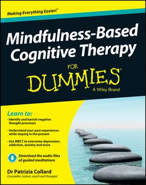 Mindfulness–Based Cognitive Therapy For Dummies